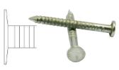 Buttress heel steel nail