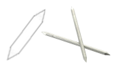 Stainless steel dowels