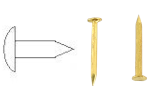 Brass nail for models