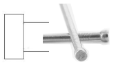 Lost head stainless steel nail