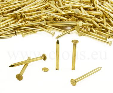Flat head brass nail Ø 4.4 mm