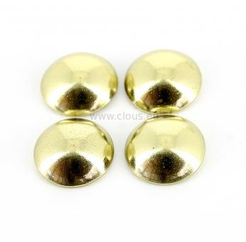 Brass coated steel (1000 upholstery nails) Ø 11.5 mm