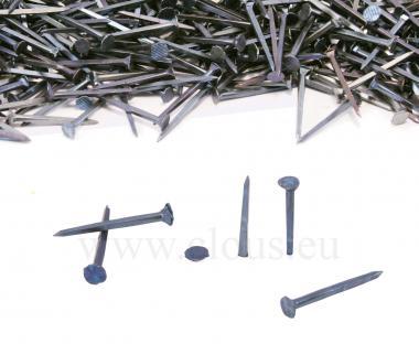 Blued steel tack for shoemaking