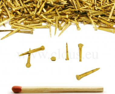 Brass tack for shoemaking