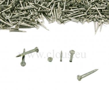 Plain steel tack for shoemaking