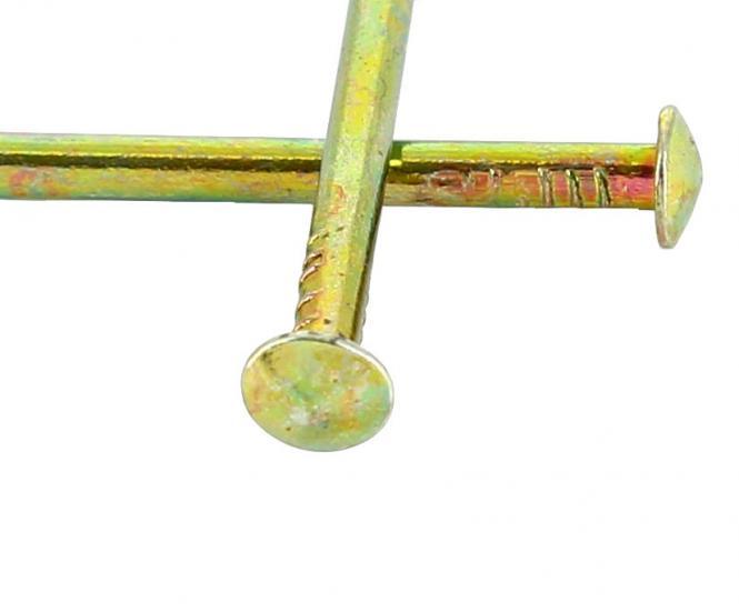 Round head bichromate coated steel nail Ø 2.2 mm (1kg)