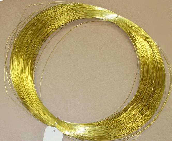 Soft brass wire (1kg) Ø 4 mm