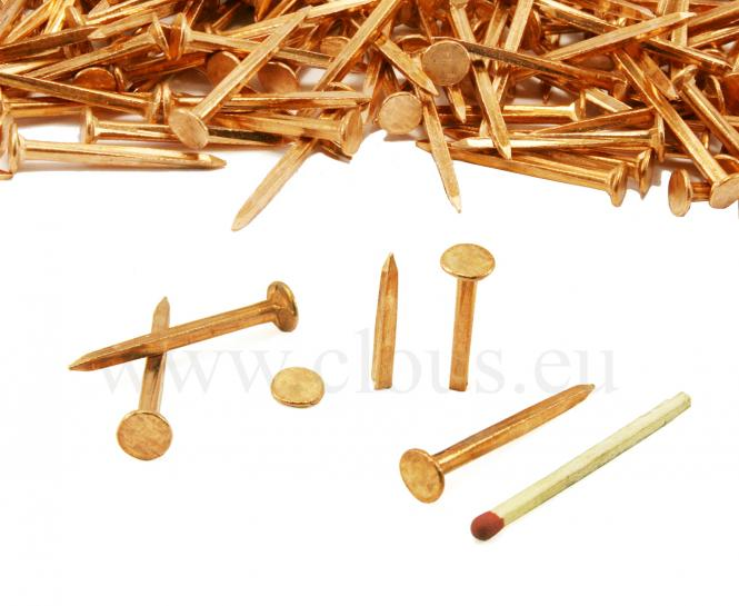 Copper tack for upholstery per kg L : 20 mm