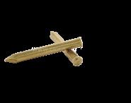 Flat head brass rivet Ø 2.7 mm